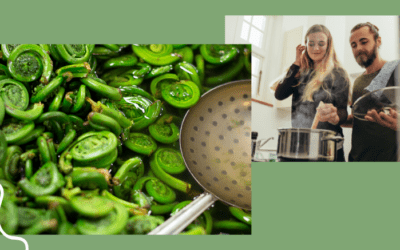 How to Freeze your Fiddleheads