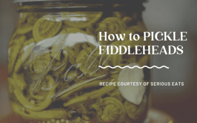 How to Pickle Fiddleheads